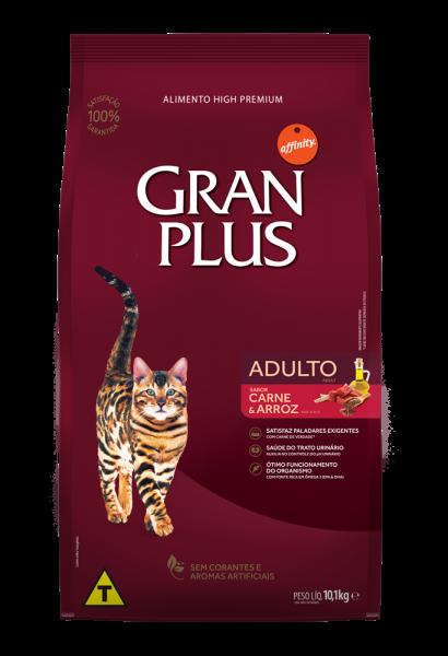GP Gato Adulto Sabor Carne e Arroz 10,1kg FRONTAL