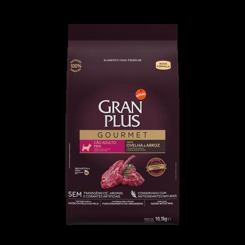 GP Gourmet Cão Adulto Mini Ovelha e Arroz 10,1kg FRONTAL