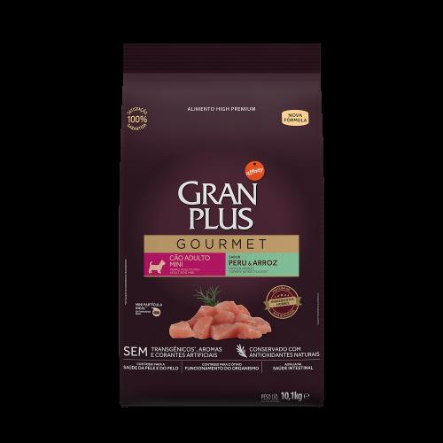 GP Gourmet Cão Adulto Mini Peru e Arroz 10,1kg FRONTAL
