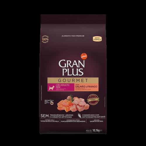 GP Gourmet Cão Adulto Mini Salmão e Frango 10,1kg FRONTAL