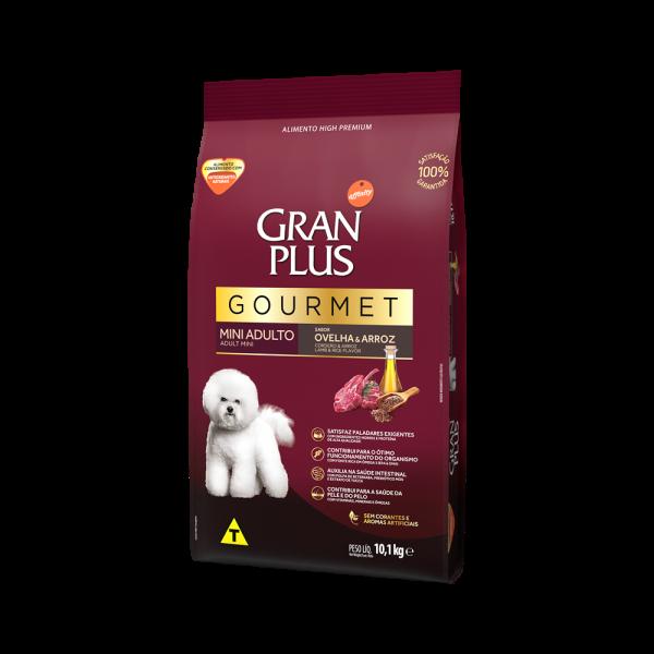 GP Gourmet Cão Adulto Mini e Pequeno Sabor Ovelha e Arroz 10,1kg LATERAL
